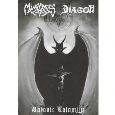Mystes / Diagon – Satanic Calamity MC/Tape