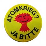 Atomkrieg - Ja bitte - Aufnäher / Patch