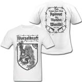 Wurzelkraft - Against The Modern World - T-Shirt (White)