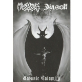 Mystes / Diagon ‎– Satanic Calamity MC/Tape