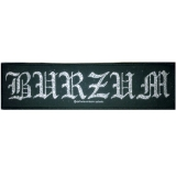 Burzum - Logo Strip - Patch