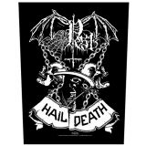 Pest - Hail Death - Backpatch