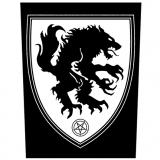 Satanic Warmaster - Werwolf Rückenaufnäher/Patch