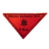 Baise Ma Hache - Division Edelweiss Noir - Patch