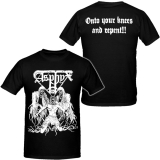 Asphyx - onto your knees and repent - T-Shirt