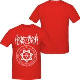 Burzum - Demo II - T-Shirt (Red/white)