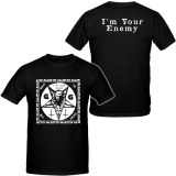 GG Allin - I´m Your Enemy - T-Shirt