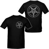 Pentagramm - Front / Backprint - T-Shirt