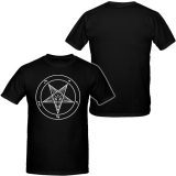 Pentagramm - Brustdruck - T-Shirt