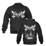 Mayhem - De Mysteriis Dom Sathanas - Jacke/Hooded Zipper