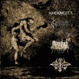 Akerbeltz / Avangh Dhür / Morbid Yell / Hellthrone LP